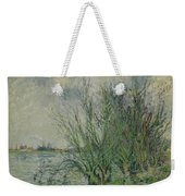 Gustave Loiseau 1865 - 1935 Willows, Edges Oise Or On The Banks Of The Oise Weekender Tote Bag