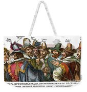 Guy Fawkes, 1570-1606 Weekender Tote Bag