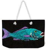 Gyotaku Hog Lipped Snapper Weekender Tote Bag by Captain Warren Sellers