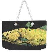 Gyotaku Snook Weekender Tote Bag by Captain Warren Sellers