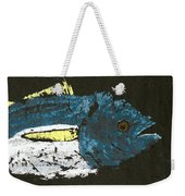 Gyotaku Yellowfin Tuna Weekender Tote Bag