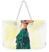Gypsy Weekender Tote Bag by Brandy Woods