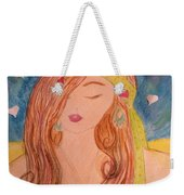 Gypsy Girl 2 Love To The World Weekender Tote Bag