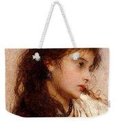 Gypsy Girl Weekender Tote Bag by George Elgar Hicks