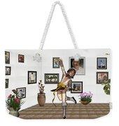 Digital Exhibartition _  Dancing Girl  Weekender Tote Bag
