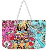 Gypsy Owl Weekender Tote Bag