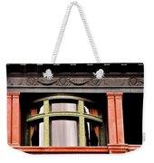 H Between The Columns Weekender Tote Bag
