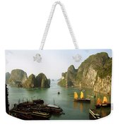 Ha Long Bay Weekender Tote Bag