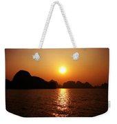Ha Long Bay Sunset Weekender Tote Bag
