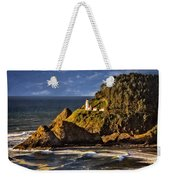 Haceta Head Light 2 Weekender Tote Bag