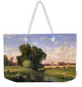 Hackensack Meadows - Sunset Weekender Tote Bag