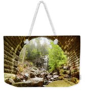 Hadlock Falls Under Carriage Road Arch Weekender Tote Bag