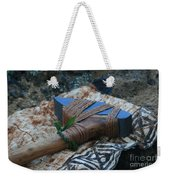 Hafted Hawaiian Adze Wailea Maui Hawaii Weekender Tote Bag