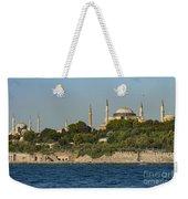 Hagia Sophia And Blue Mosque Weekender Tote Bag