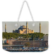 Hagia Sophia On The Bosphorus  Weekender Tote Bag