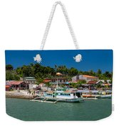 Hagnaya's Port And Fishing Village Weekender Tote Bag