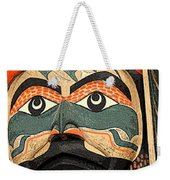 Haida Faces Weekender Tote Bag