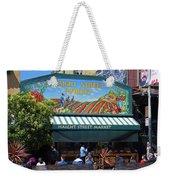 Haight Steet Market San Francisco Weekender Tote Bag