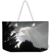 Hail Storm Clouds Weekender Tote Bag