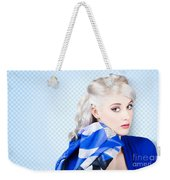 Hair And Beauty Fashion Portrait Weekender Tote Bag