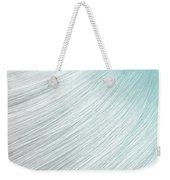 Hair Blowing Closeup Weekender Tote Bag