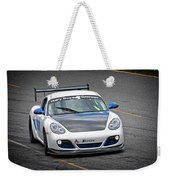 Hairy Dog Garrrage - Porsche - Pit Lane Weekender Tote Bag