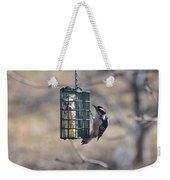 Hairy Woodpecker 1 Weekender Tote Bag