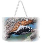 Hairy Woodpecker 2 Weekender Tote Bag