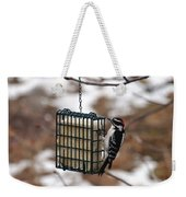 Hairy Woodpecker 2 Weekender Tote Bag