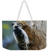 Hairy Woodpecker Weekender Tote Bag
