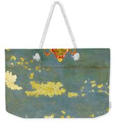 Haiti, Dominican Republic, Puerto Rico And French West Indies Weekender Tote Bag