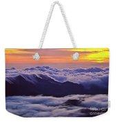 Maui Hawaii Haleakala National Park Golden Dawn Weekender Tote Bag