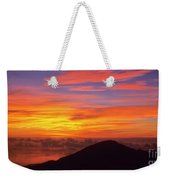 Haleakala Sunrise Colors IIi Weekender Tote Bag