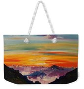 Haleakala Volcano Sunrise In Maui      101 Weekender Tote Bag