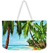 Haleiwa Beach #369 Weekender Tote Bag