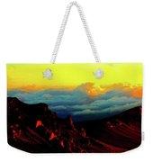 Halekala Sunrise Weekender Tote Bag