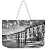 Hales Bar Dam B W Tennessee Valley Authority Tennessee River Art Weekender Tote Bag
