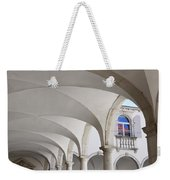 Half Arched Portal Of The Minorite Monastery Cloister Attached T Weekender Tote Bag