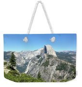 Half Dome From Inspiration Point Weekender Tote Bag
