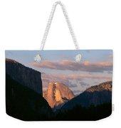 Half Dome Mountain At Sunset, Yosemite Weekender Tote Bag
