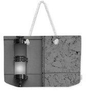 Half Lit Wall Sconce Weekender Tote Bag