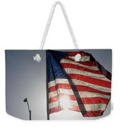 Half Mast Flag Honoring President Ronald Reagan Number 2 Casa Grande Arizona June 2004 Weekender Tote Bag