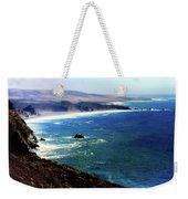 Half Moon Bay Weekender Tote Bag by Karen Wiles