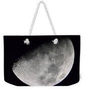 Half Moon Number 5 Weekender Tote Bag