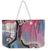 Half Moon On Vase Weekender Tote Bag