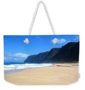 Hali Pale Beach  Kauai  Hawaii Weekender Tote Bag