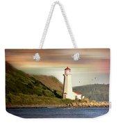 Halifax Harbor Lighthouse Weekender Tote Bag