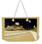Hall Of Fame At Night Weekender Tote Bag