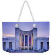 Hall Of State Texas Weekender Tote Bag