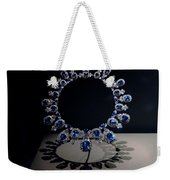 Hall Sapphire And Diamond Necklace Weekender Tote Bag